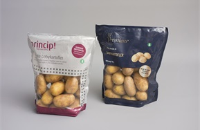 Standup pouch (Doypack) for potatoes