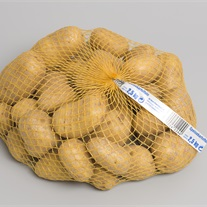 potatoes - knitted tubular net