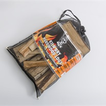 firewood - monofilament bag